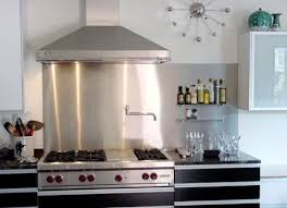 stainless steel backsplashes for kitchens amazing materials for amazing kitchen backsplashes