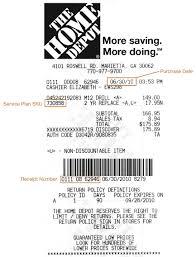 Home Depot Office Georgia Expressexpense Custom Receipt Maker U0026 Online Receipt Template Tool