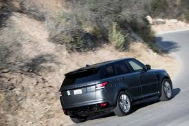 land rover sports car 2017 range rover sport svr voyage to monterey car week