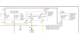 2000 gmc sierra 1500 headlight wiring diagram wiring diagram and