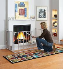 baby safe play room create a barricade for potentially unsafe areas like fireplaces