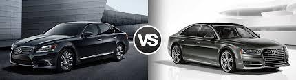 lexus vs audi compare the 2016 lexus ls 460 vs audi a8 ramsey nj