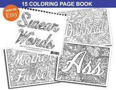 pin lisa dawn herder curse words coloring pages