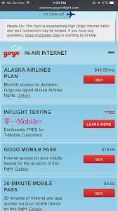 t mobile free inflight wifi using gogo and wifi on a plane