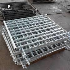 outdoor dip galvanized steel deck railing buy steel railing