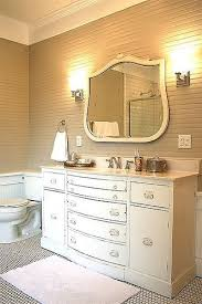 How To Turn A Dresser Into A Bathroom Vanity by Furniture Reincarnation How To Turn Your Old Dresser Into A