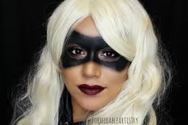 formidableartistry arrow u0027s black canary makeup 31 days of halloween