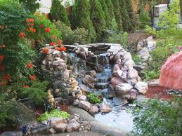 Small Garden Waterfall Ideas Pictures Of Backyard Waterfalls Images Of Small Ponds With