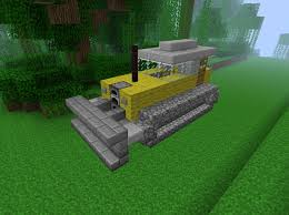 minecraft dump truck bulldozer minecraft project