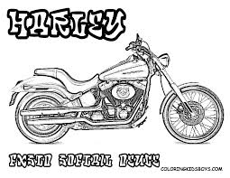 harley davidson logo coloring pages coloring