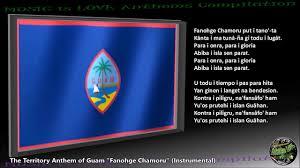 Guam Flag Guam Territory Anthem