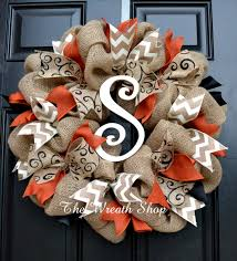 Halloween Wreath Ideas Front Door Over 50 Of The Best Diy Fall Craft Ideas Burlap Pumpkins
