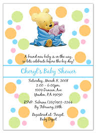 winnie the pooh baby shower the pooh piglet baby shower invitations