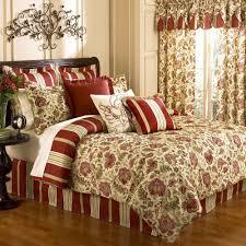 Bedspread Sets King Amazon Com Waverly Imperial Dress Brick King Comforter Set