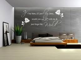 Beautiful Wall Stickers by Bedroom Wall Decals Quotes Outstanding For Uk Stickers Bedrooms