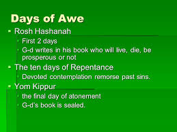 yom kippur atonement prayer1st s day gift ideas shabbat and days of awe days of awe rosh hashanah 2
