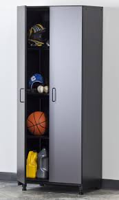tuff stor charcoal gray 2 door garage storage pantry 2111 1102