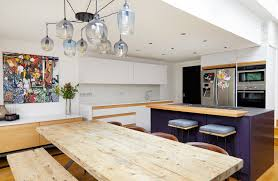 Interior Of A Kitchen Before U0026 After A Kitchen Renovation And Expansion In London