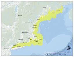 Northeast Map Surfrider Northeast Region