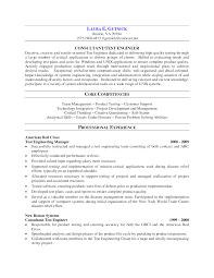 Software Tester Sample Resume by Software Testing Experience Resume Format Free Resume Example