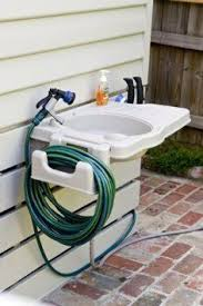 Outdoor Sink Ideas 2 In 1 Water Fountain And Faucet Garden Sink Outdoor Sinks And