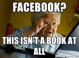 Grandmother Meme - tips for your grandma on facebook the security awareness company