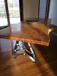 wood slab table legs 11 best vintage industrial steunk table legs images on pinterest