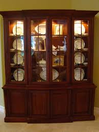 the art of accessorizing a china cabinet matt and shari