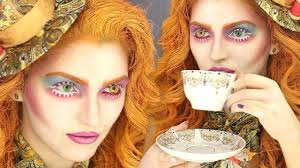 mad hatter alice in wonderland make up look halloween