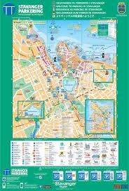 Ces Map Stavanger Parking Authority Stavanger City Map Norway