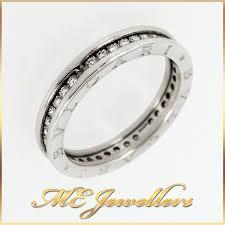 bvlgari rings wedding images Authentic bulgari bvlgari b zero1 18k white gold diamond ring jpg