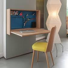 bureau pliable mural 12 idées déco de bureau mural rabattable
