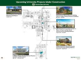 Colorado State University Campus Map by Campus Construction And Parking News Source Colorado State