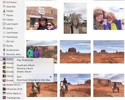 how to delete an album within photos on macos sierra u2014 apple world