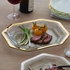 cuisine de la rome antique annieglass antique small steak platter tray