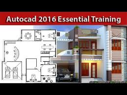 2d Home Design Software For Pc Autocad Architectural House 2d Plan Tutorial For Beginners Youtube