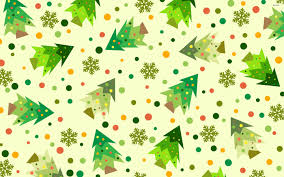 christmas tree pattern walldevil