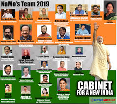 New Cabinet India The New Modi Cabinet The Complete List