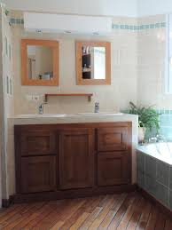 meuble sous vasque sur mesure salle de bain wc