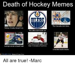 Funny Nhl Memes - death of hockey memes diving tean the canucks don t dive sidney