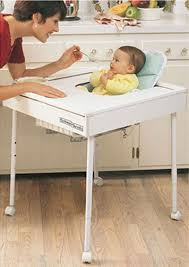 High Chair Table And Chair Babeetenda Safety Feeding Table The Safer No Tip Baby High Chair