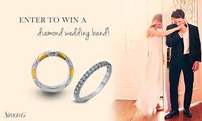 win a wedding ring enter to win a simon g diamond wedding band bridalpulse