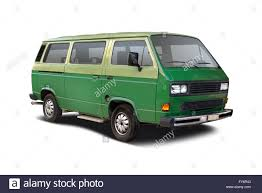 volkswagen van side green camper van side view isolated on white stock photo royalty