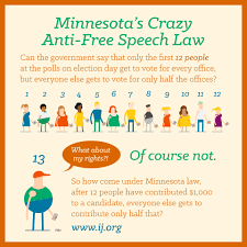 minnesota campaign speech limits institute for justice