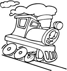 train transportation coloring page for kids thanksgiving