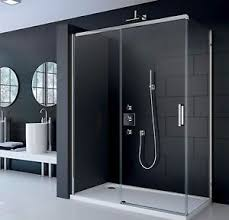 Merlin Shower Doors Merlyn Series 8 Frameless Sliding Door 8mm Glass Shower Enclosure