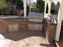 appliance outdoor kitchen brick building outdoor kitchen bricks