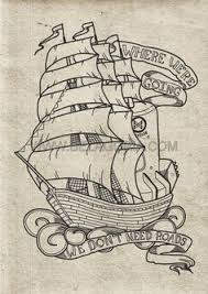 pirate ship a sketch for a how to draw book art pinterest