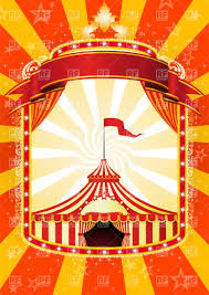 4731 best graphic design images advertising poster with banner and big top circus royalty free