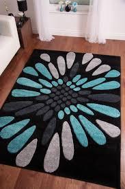 teal and black rug rug designs
